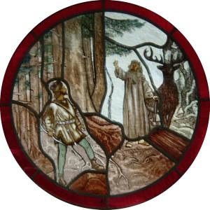 Hubert a mnich